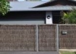 Thatched fencing Trimlite Fencing Sydney